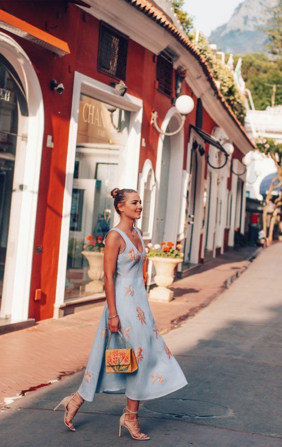 Capri Gardens Dress