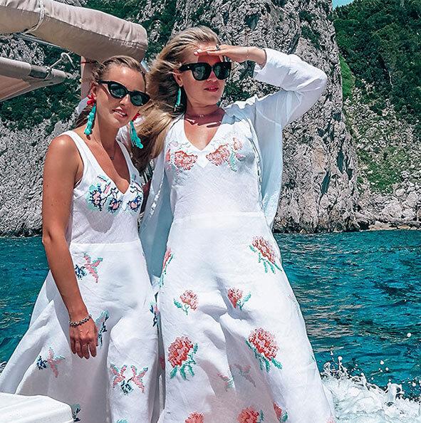 handmade white summer dresses